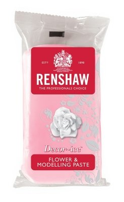 Renshaws Rose Pink Decor-Ice Flower and Modelling Paste 250g