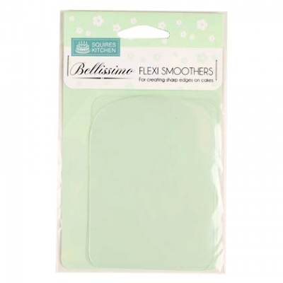 "Bellissimo Flexi Smoothers Suitable for Medium Cakes 15-23cm (6-9"")"