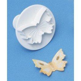 PME Veined Butterfly Plunger Cutter - Medium 45mm