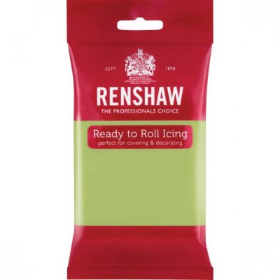 Renshaw 250g Pastel Green Ready to Roll Fondant Icing