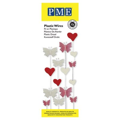 PME Plastic Wires Pack of 25