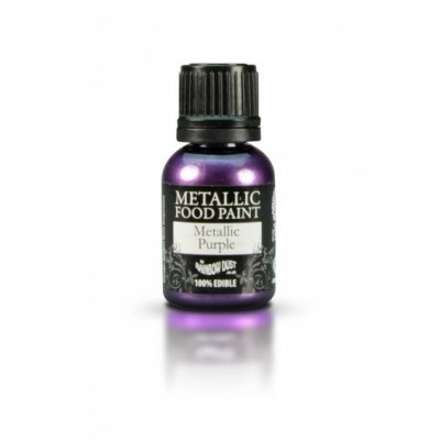 Rainbow Dust Purple Metallic Food Paint 25ml