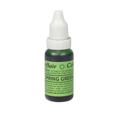 Sugarflair, Sugartint Droplet Colour - Spring Green 14ml