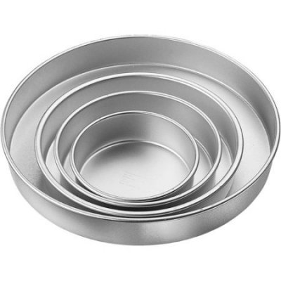 PME Round Tin Set - 6,8,10,12'' (3 inches deep)
