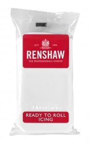 Renshaw 1kg White Ready to Roll Fondant Icing