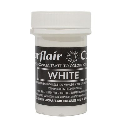 Sugarflair Spectral White Colour Paste