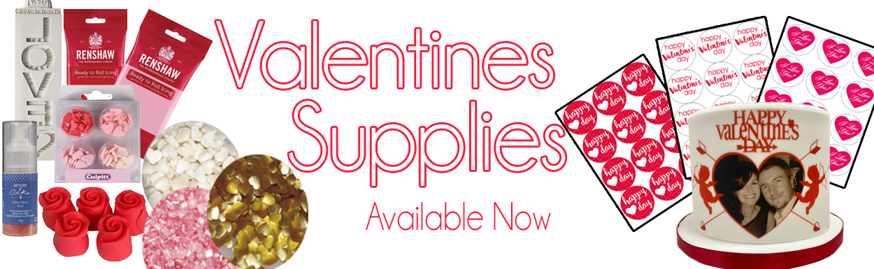 Valentines Day Cake Supplies