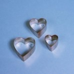 Heart / Arum Lily Metal Cutters PME