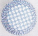 CULPITT Blue Gingham Cupcake Cases