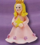 Cake Star Topper - Princess with Star
