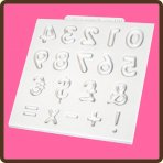 Katy Sue, Domed Numbers Design Mat