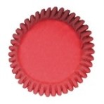 CULPITT Red Cupcake Cases Pack of 50