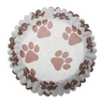 CULPITT 45mm Pawprints Cupcake Cases