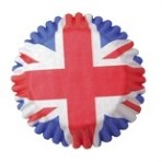 CULPITT 45mm Union Jack Cupcake Cases