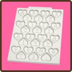 Katy Sue Heart Alphabet Design Mat
