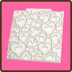 Katy Sue Hearts Design Mat
