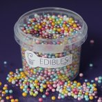 Purple Cupcakes 4mm Shimmer Pearls - Multi - 80g