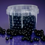 Purple Cupcakes Pearls 7mm - Black