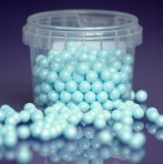 Purple Cupcakes Pearls 7mm - Blue