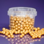Purple Cupcakes Pearls 7mm - Gold