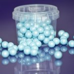 Purple Cupcakes Pearls 10mm - Blue