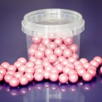 Purple Cupcakes Pearls 10mm - Pink