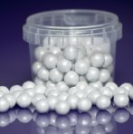 Purple Cupcakes Pearls 10mm - White