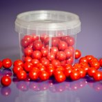 Purple Cupcakes Pearls 10mm - Red