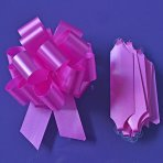 Purple Cupcakes Quick Pull Bow - Cerise