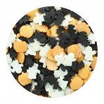 Purple Cupcakes Halloween Sprinkle Mix Ghost, Bat and Pumpkin 60g