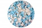 Scrumptious Ice Blue & White Mini Sugar Snowflakes 70g