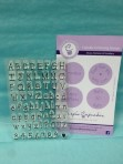 Dotty Cupcake Letter and Number Embossers