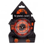 Pack of 50 Haunted House Cupcake Cases