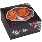 Wilton Pack of 3 Take A Bite! Vampire Themed Cupcake Box