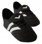 PME Handcrafted Football Boots - Black/White