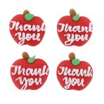 Thank you Teacher Sugar Icing Toppers Pack of 12