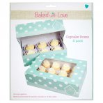 Baked with Love Dual Insert Cupcake Box