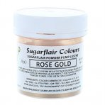 Sugarflair Rose Gold Lustre Dust 25g