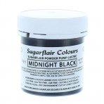 Sugarflair Edible Lustre Midnight Black 25g