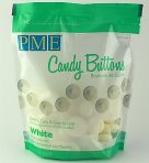 PME Candy Buttons Mint White Chocolate 340g