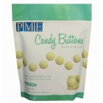 PME Candy Buttons Vanilla White Chocolate 340g