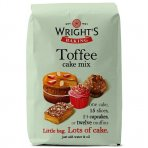 Wrights Baking Toffee Cake Mix 2.5kg (500g x 5)