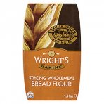 Wrights Wholemeal Bread Flour 7.5kg (1.5kg x 5)