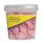 Red Fruit Flavour Wafer Roses (Pack of 72)