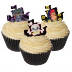 Edible Wafer Toppers - Pirate Ship Design 12 Pc