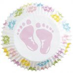 Wilton Baby Feet Baking Cases Pack of 75