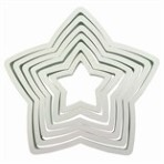PME Star Cutters 6 Pc