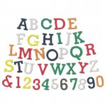 FMM Block Uppercase Alphabet & Numbers