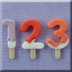Alphabet Moulds - Lolly Font (Numbers)