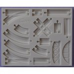 Alphabet Moulds - Basic Train Tracks